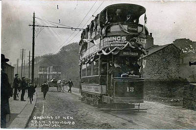 Haslingden opening of new Tram Service