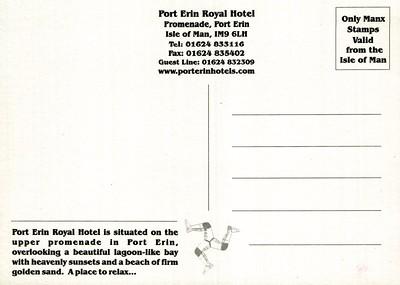 Port Erin Royal rear